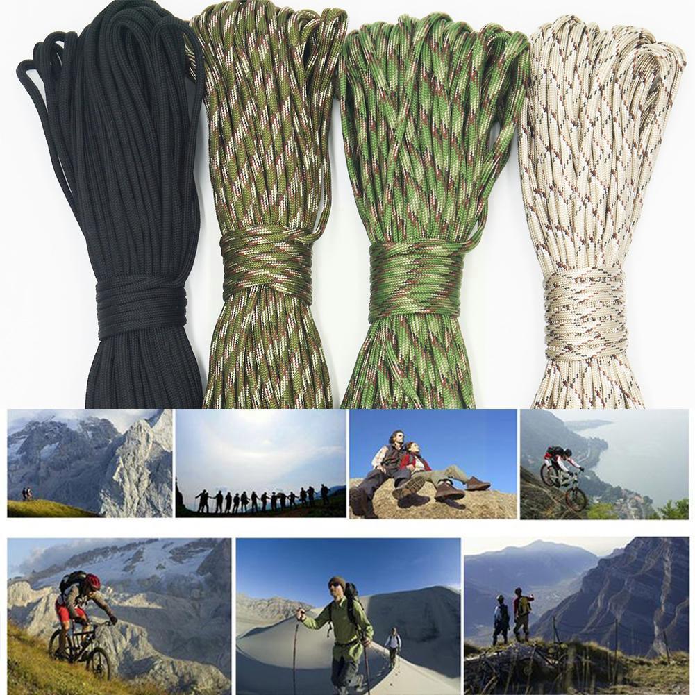 Веревка для палатки для кемпинга, зонт, веревка, веревка для скалолазания, датчик выживания, сердечник, приключения, военная веревка, семь зо...