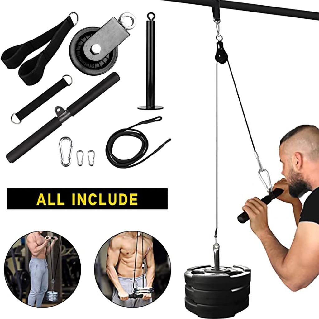 9pc braço blaster trainer interior e exterior levantamento antebraço força do braço equipamentos de fitness treino levantamento de peso em casa ginásio #45