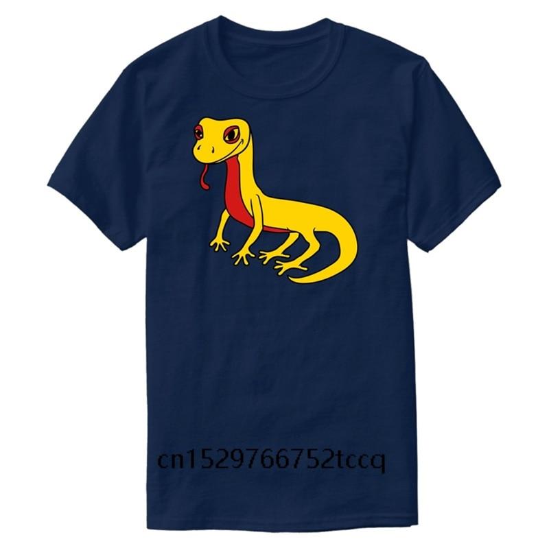 Camiseta de moda para hombre, lagartija Gecko, serpiente, reptil, Dino, Waran, hombre, ropa negra de Humor, camiseta de estilo de moda 2020