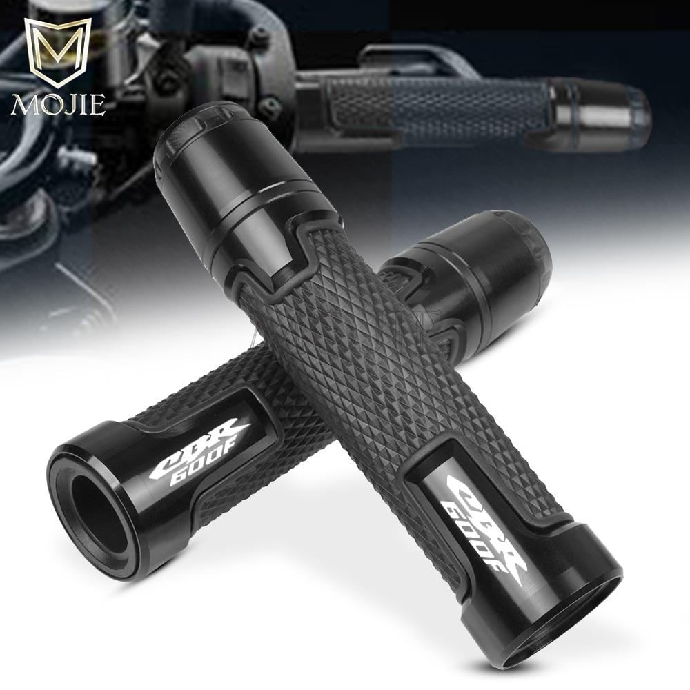 Empuñaduras de manillar de deslizamiento antideslizantes para motocicleta, tapa protectora anticaída, extremo de manillar para Honda CBR600F CBR 600F 600 F 1991-2013