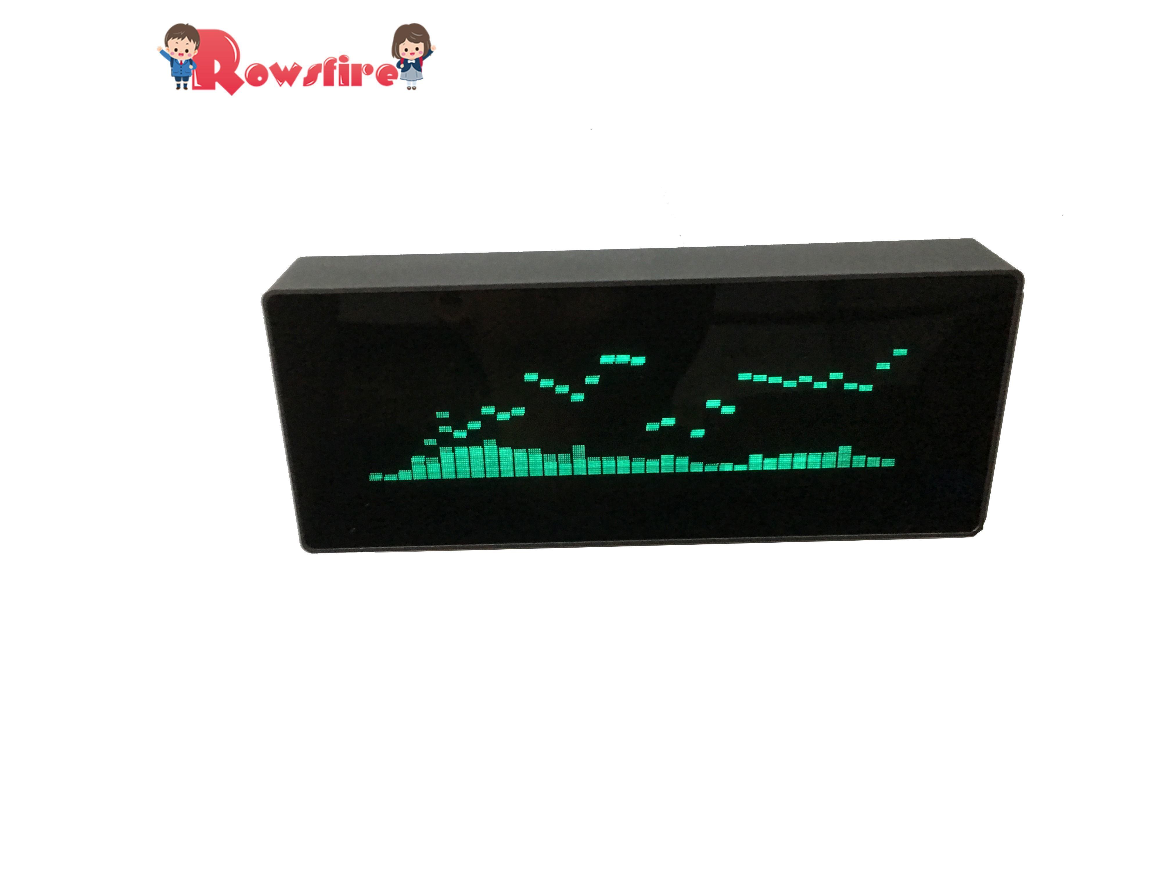 Pantalla de reloj indicador de espectro de música VFD Medidor de VU indicador de nivel de Audio