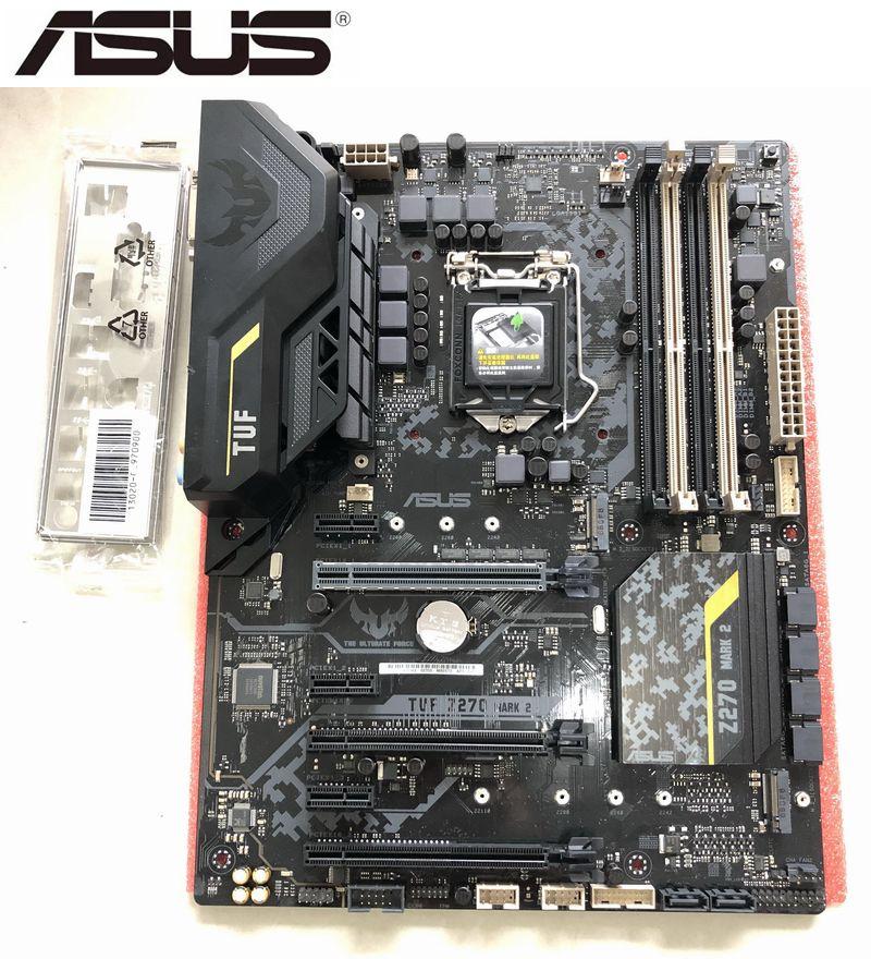 اللوحة الام لاجهزة اسوس TUF Z270 MARK 2 لاجهزة الكمبيوتر المحمول انتل Z270 LGA1151 DDR4