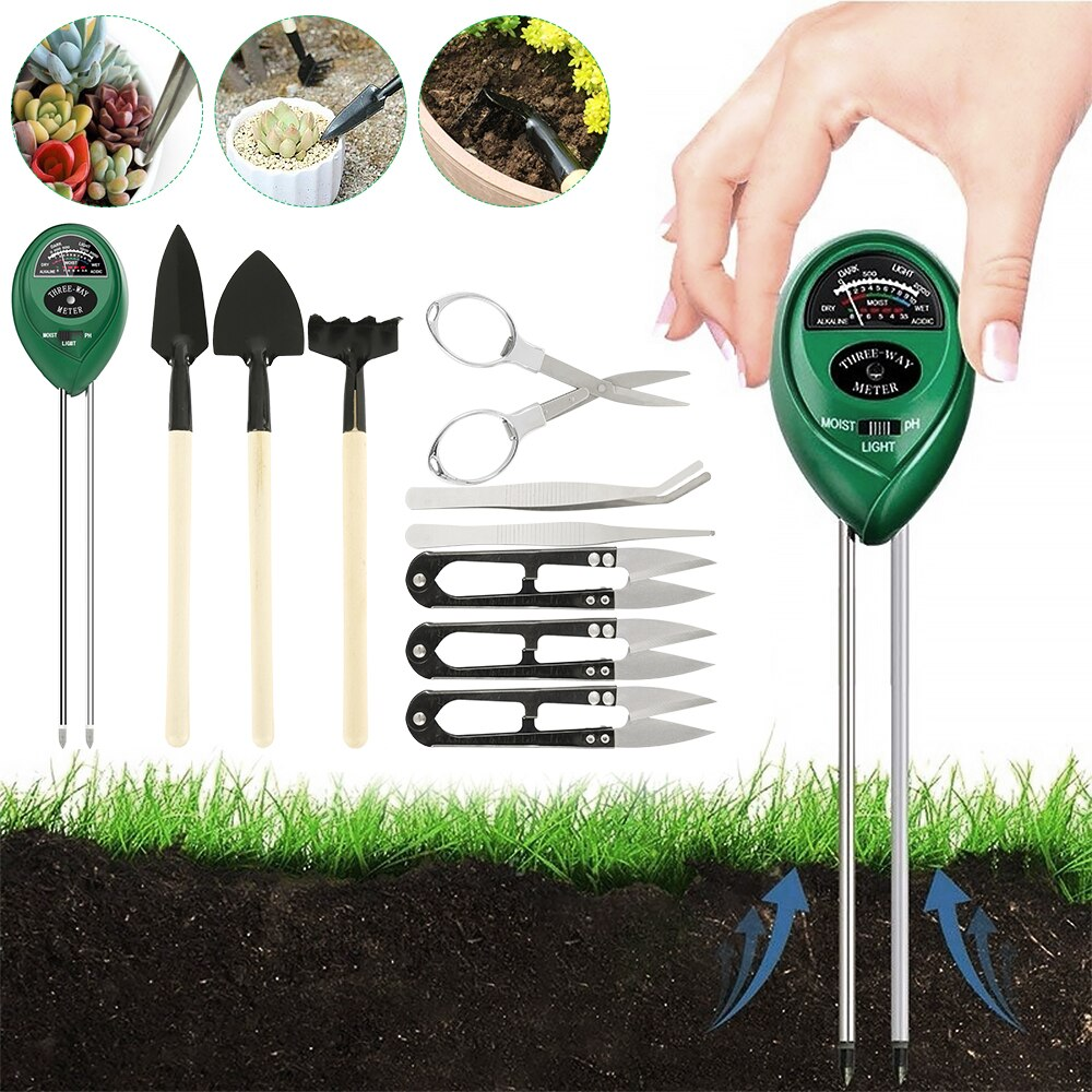 10-piece Succulent Planting Set Transplanting Outdoor Bonsai Tools Planting Flowers Succulents Miniature Gardening Tools