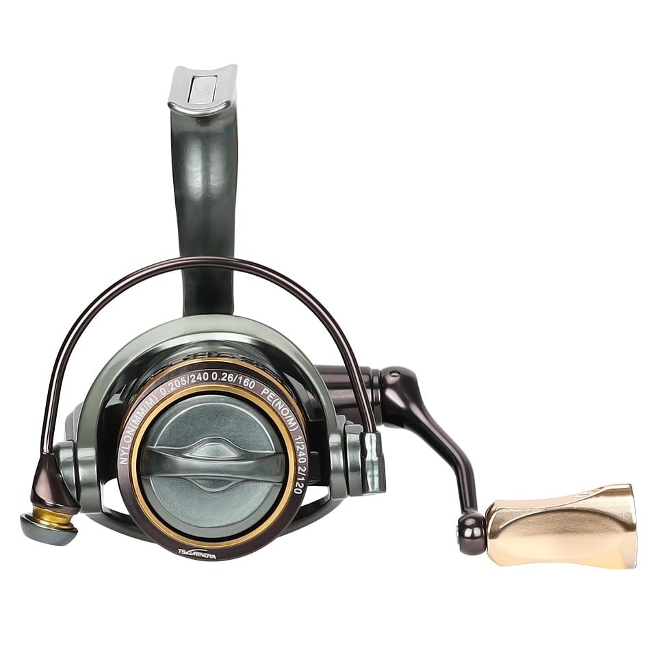 Spool Spinning Fishing Reel 1000 2000 3000 185G 6KG Max Carbon Drag Carp Saltwater Reel Bass Pike Wheel enlarge