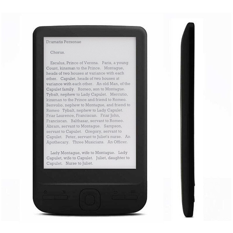 Ultra-Thin BK4304 EBook eReader 4.3 inch Ink Screen E-book learning PDF Reader 4GB/8GB/16GB Electronic Book Readers