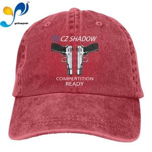Print 3D CZ 75 Shadow 2 Logo Outdoor Leisure Baseball Caps Adjustable Hip Hop hat