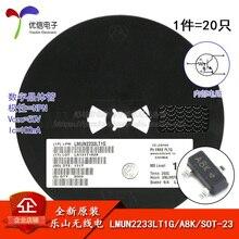 LMUN2233LT1G véritable écran dorigine A8K SOT-23 transistor 50 V/100mA SMD
