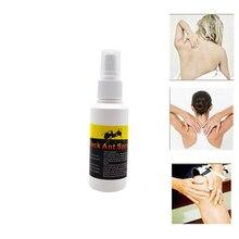 Hot Sale 80ml Black Ant Disinfection Ointment Medicated Essential Oil Rheumatoid Arthritis Spray Medical Backache Plasters