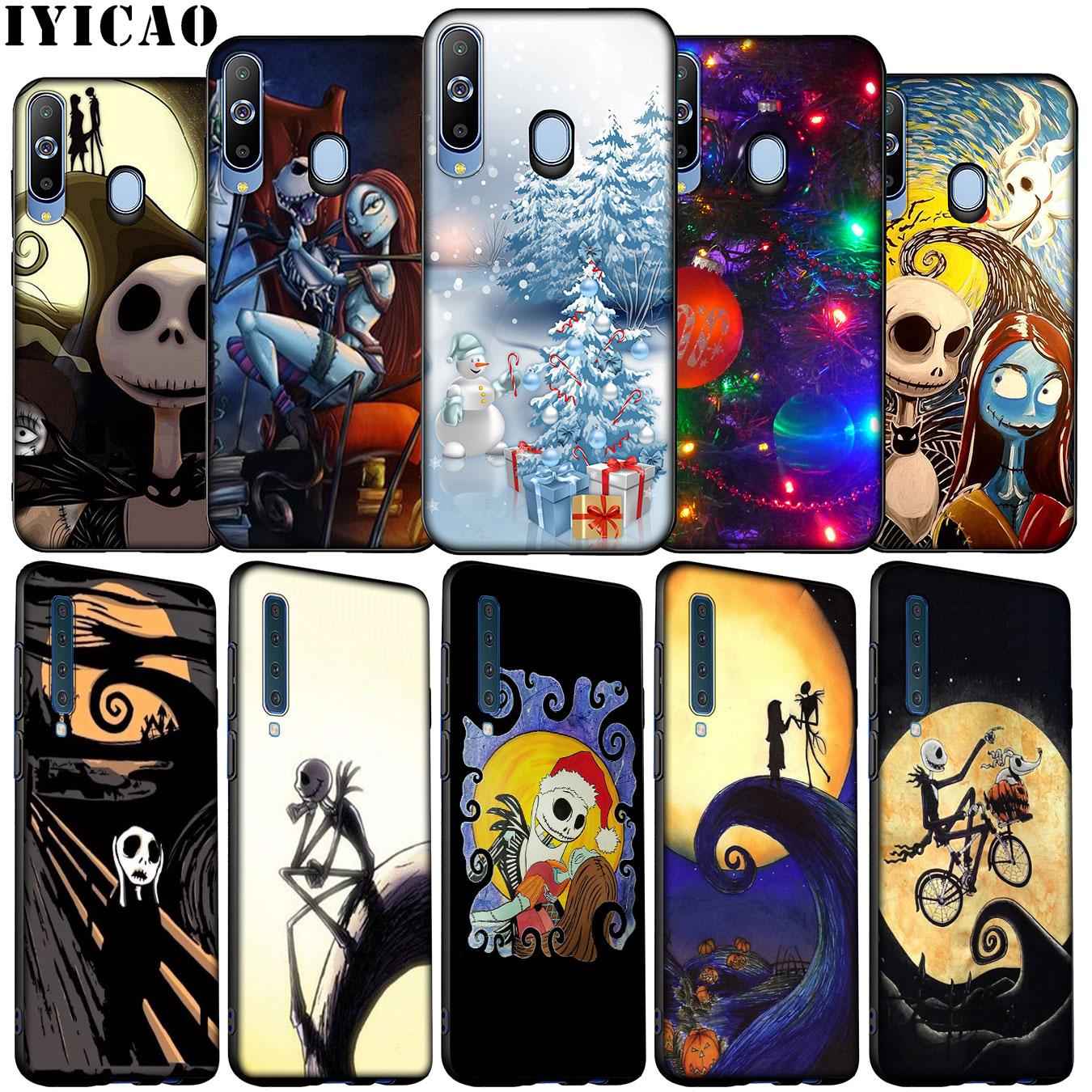 Funda de silicona blanda para Samsung Galaxy A70, A50, A60, A40, A30, A20, A10, M20, M30, M40 y A20E de pesadilla, de jack de Halloween