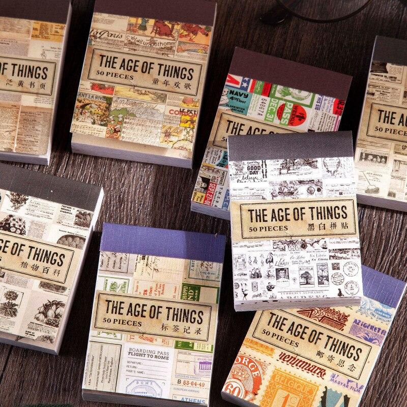50 листов/упаковка, наклейки для книг и страниц