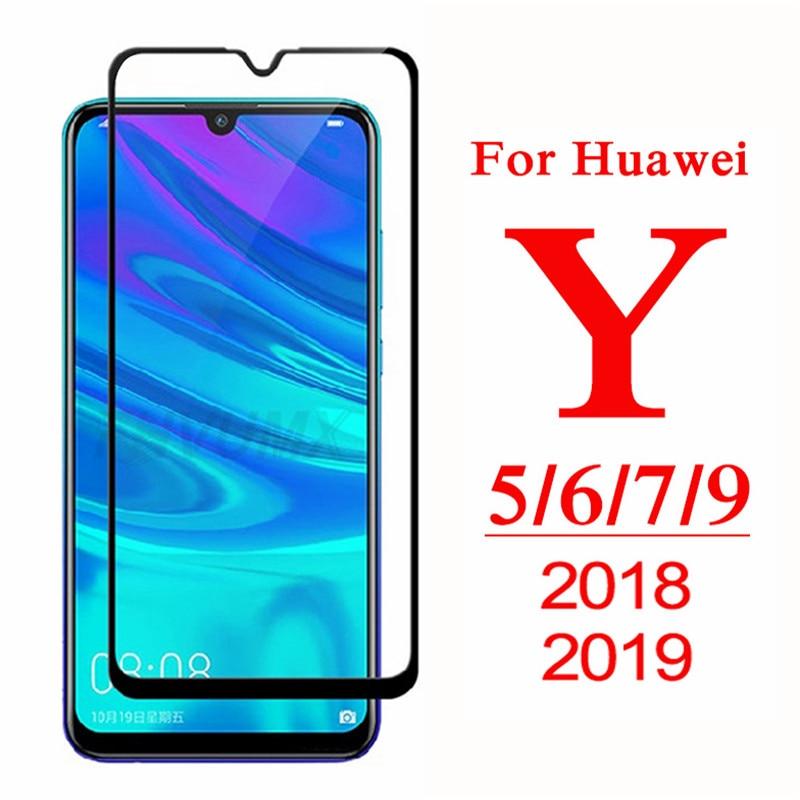 Tam+kapak+koruyucu+cam+i%C3%A7in+Huawei+Y5+Y6+Y7+Y9+ba%C5%9Fbakan+2018+temperli+cam+Y5+Lite+Y+5+6+7+9+Pro+2019+ekran+koruyucu+Film