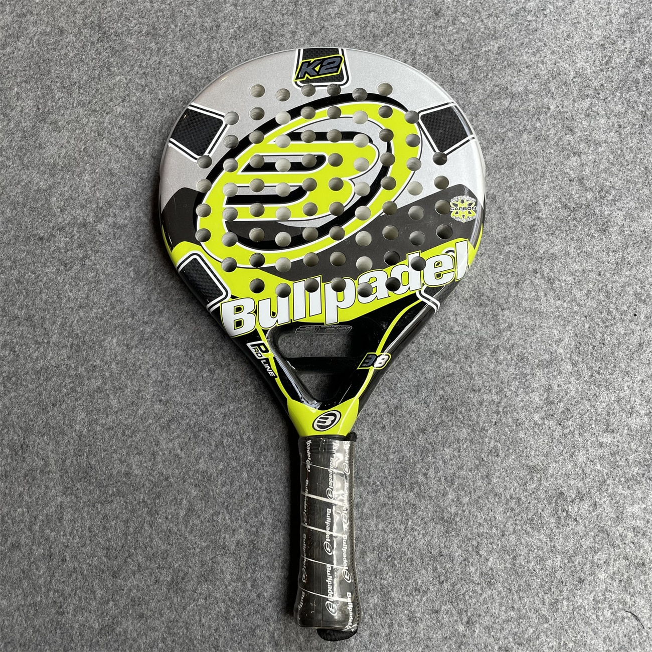 Bullpadel Cage Sport Paddle Racket Men Tennis Equipment Soft Eva Face Racquet Board Fitness Ballgame Badminton Hand Glue