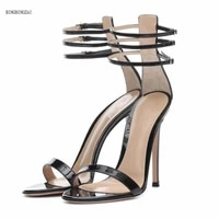 the new womens sandals shoes woman authentic superstar 12cm thin heels fashion show high quality wedding 3 13 14 bbzai