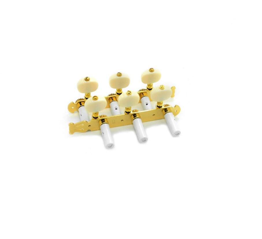 2 per set High end Classical Guitar Tuning Pegs Machine Heads Tuning keys Gold color enlarge