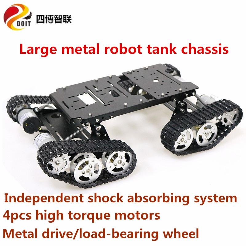 Набор шасси SZDOIT TS400 для робота-танка, г�