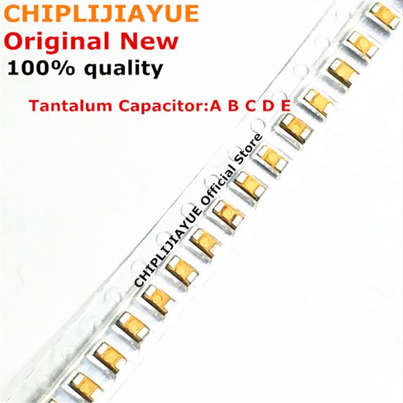 10 шт. танталовый конденсатор типа A 106 107 476 105 226 336 224 475 10 в 16 в 25 в 35 в 6,3 в 0,22 мкФ 1 мкФ 4,7 мкФ 10 мкФ 22 мкФ 33 мкФ 47 мкФ 100 мкФ