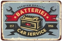 no applicable tin metal signsvintage posters decorationscar batteries service signs for pubs shop wall decorative funny signs