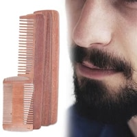sandalwood fine wide teeth hair comb beard comb hairstyling care comb portable vintage head professional hair salon styling comb