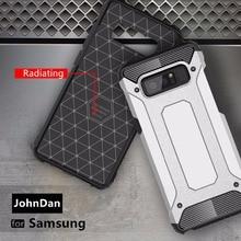 Pour Samsung Galaxy S20 Ultra S10 S10E S9 S8 Plus S7 S6 bord Anti choc armure étui pour Samsung Galaxy Note S 20 10 9 Lite
