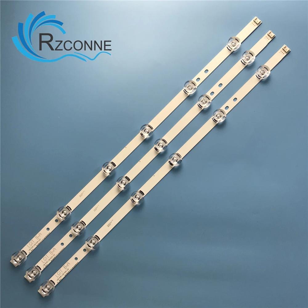 LED قطاع ل سونغ وي إل جي 32 بوصة B A 6916L-1703B 1704B 32LY340C LC320DXE FG A3 6916L-2406A 2407A 32LF560V 32LB582D 32LB565U