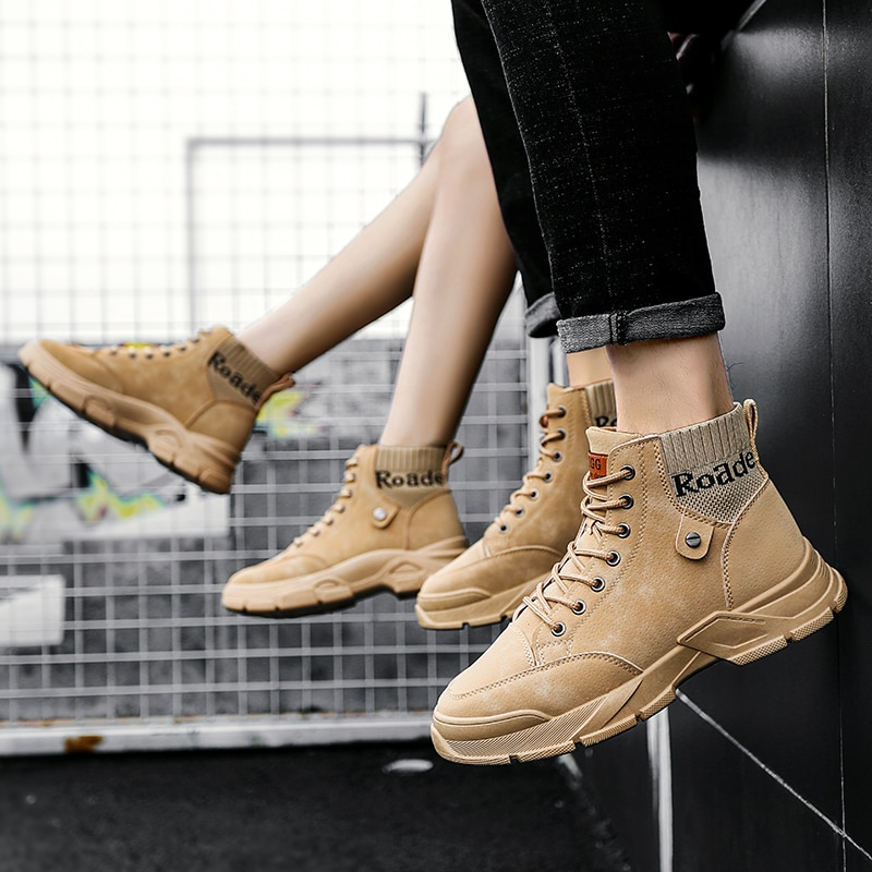 Women Casual Shoes New Mid-Calf Boots High Top Fashion Short Trend Ankle Popular Basic