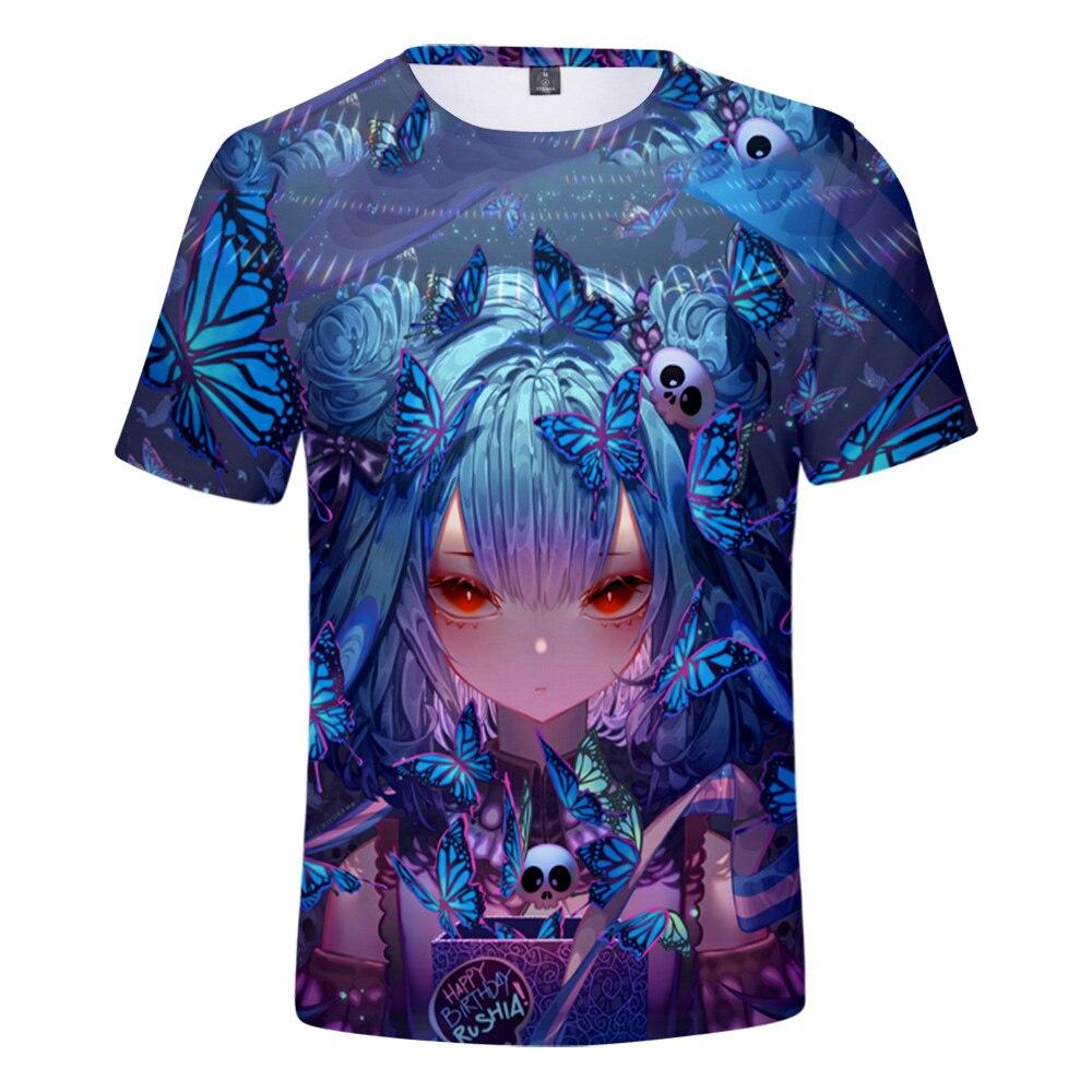 HOLOLIVE-Camiseta de estilo veraniego para hombre y mujer... ropa de calle estilo...
