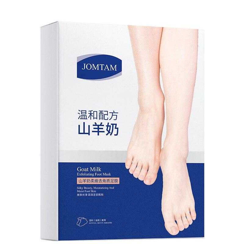 Goat milk foot Foot Mask Exfoliating Renewal Pedicure Feet Mask Foot Care Peeling Health Care Foot C