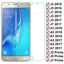 9D Protective Glass For Samsung Galaxy S7 A3 A5 A7 J3 J5 J7 2016 2017 J2 J4 J7 Core J5 Prime Tempere