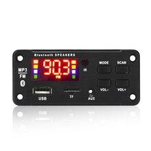 12V Bluetooth6.0  Decoding Board Module Wireless Car USB mp3 Player Bluetooth TF Card Slot  / FM / R