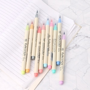10 Colors Watercolor Marker Pen Soft Brush Calligraphy Sketch Drawing Painting 53CC