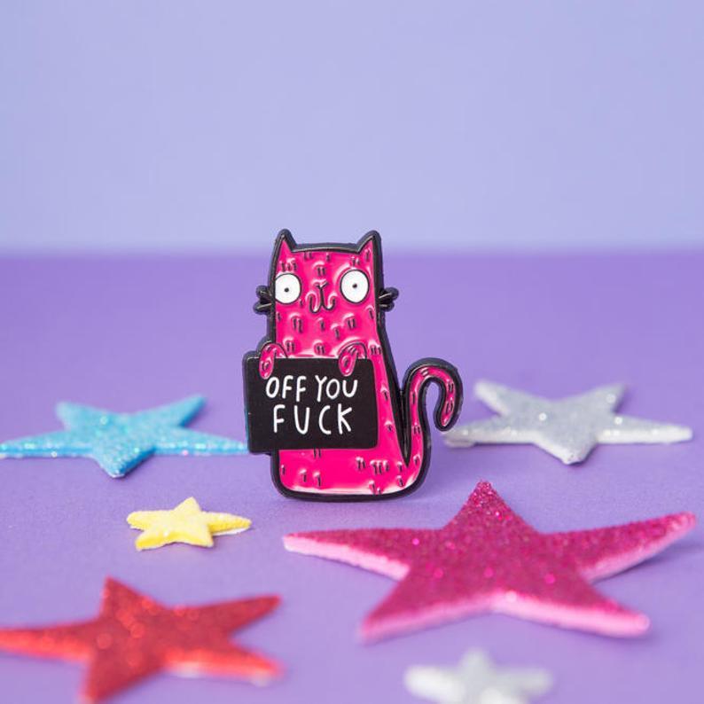 Creativo Pop esmalte-esmalte Pin insignias solapa broche divertido joyería de moda