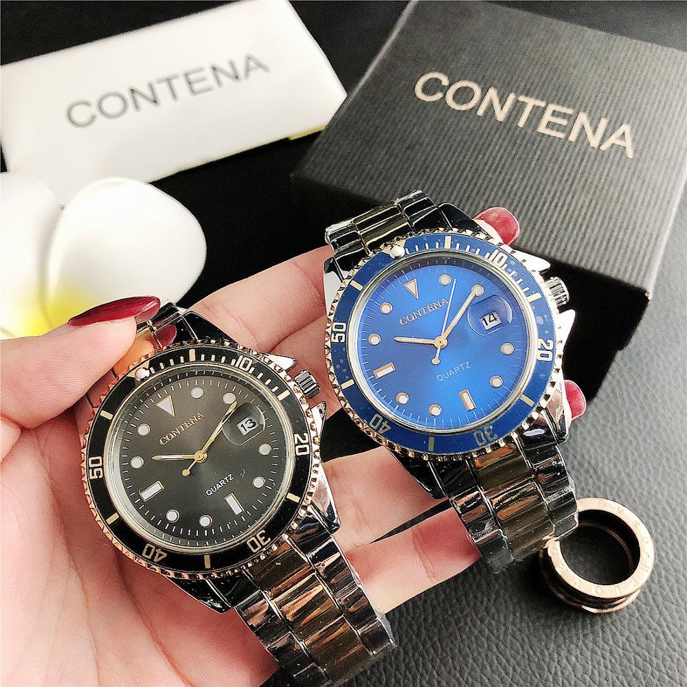 7478MD    Foreign trade ladies watch men's watch casual fashion watch calendar alloy watch watch