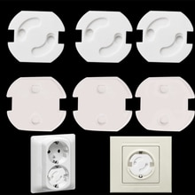 Baby Safety Child Electric Socket Outlet Plug Protection Security Two Phase Safe Lock Cover Kids Soc