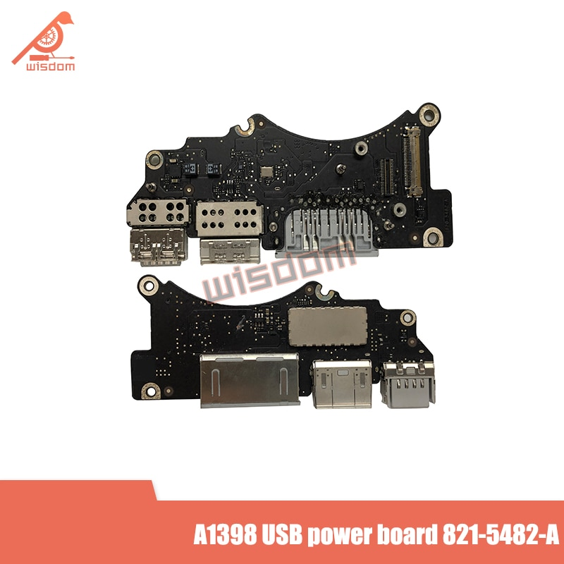 Original A1398 Audio de potencia junta para Apple Macbook Air 15A1398 HDMI USB SD/placa 821-5482-A MC505 MC506 año 2015