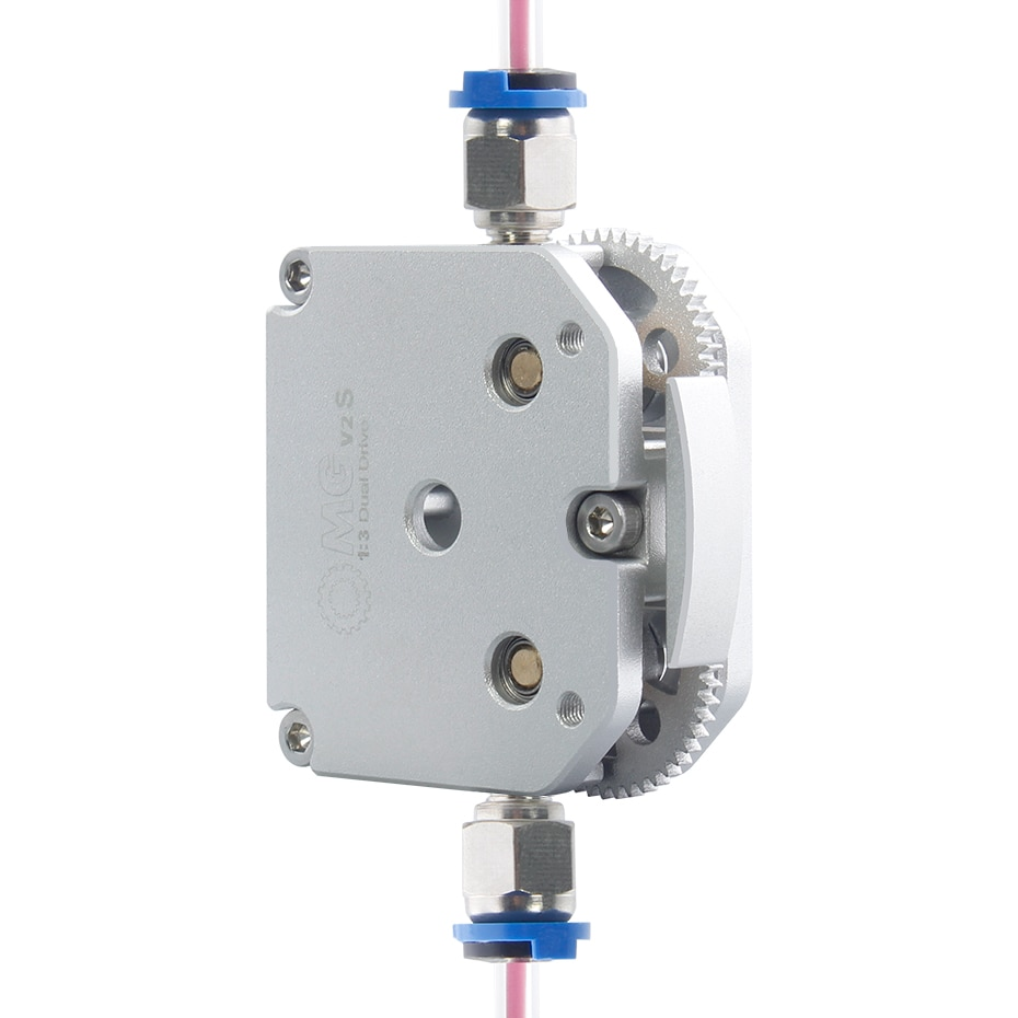 2021 NEW Dual Drive Extruder All Metal For 3D Printer E3D J-Head Bowden Bracket 3:1 Ratio Upgrade BMG Enter 3 Titan MY3D OMG sovol sv02 3d printer with all metal dual extruder silent mainboards tmc2208 drive meanwell power supply 4 3 inch touchscreen 240 x 280 x 300 mm