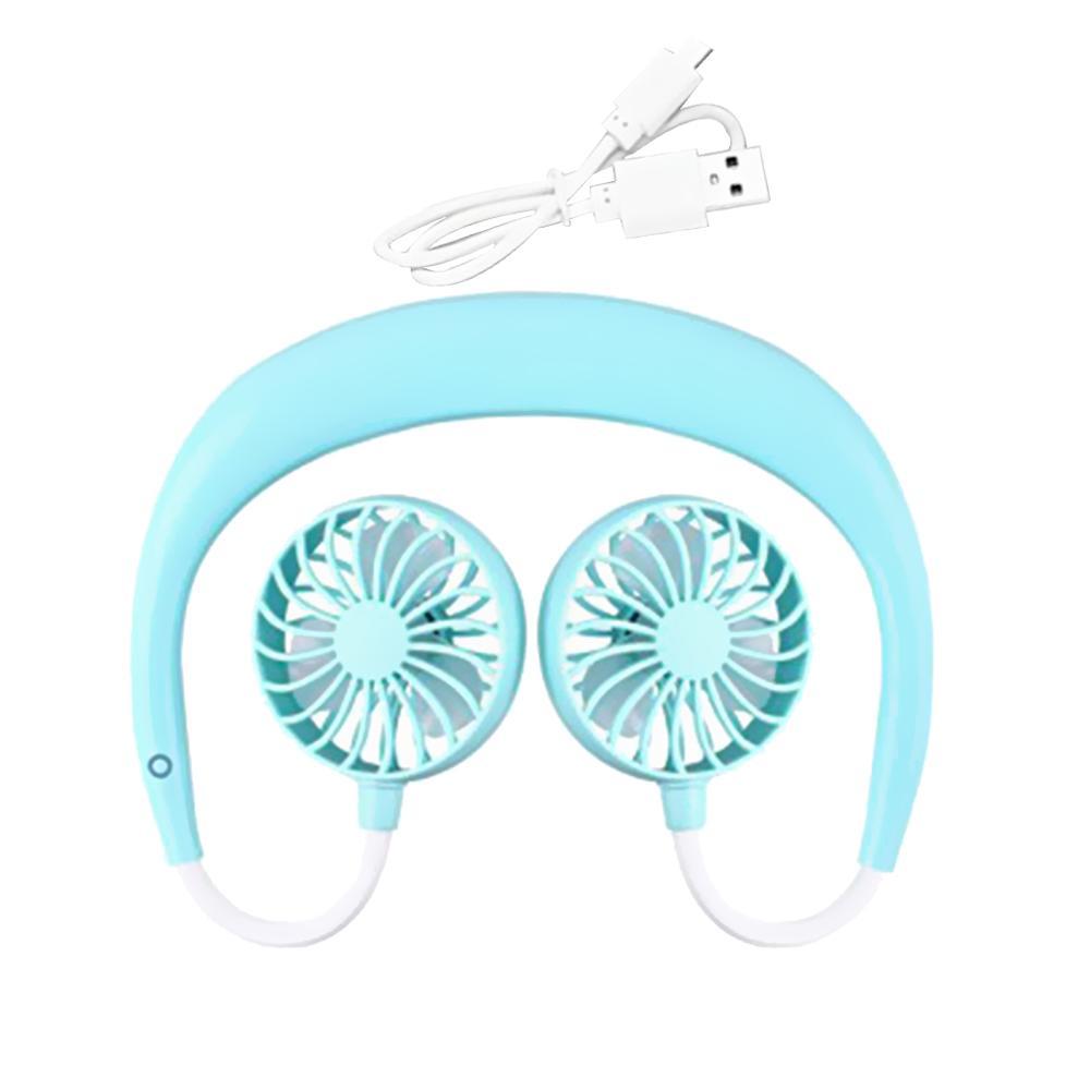 Portable USB Mini ventilateur cou ventilateur Rechargeable petit ventilateur de sport Portable Usb bureau main climatiseur refroidisseur pour voyage en chambre
