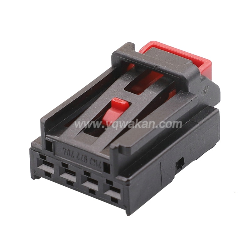 Free shipping 2sets 24pin auto housing electric 7N0 972 704 wiring harness unsealed plug connector 7N0972704
