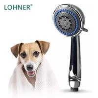 pet faucet sprayer set bath spray dog shower for home dog washing station hand shower spray faucet attachment with hose
