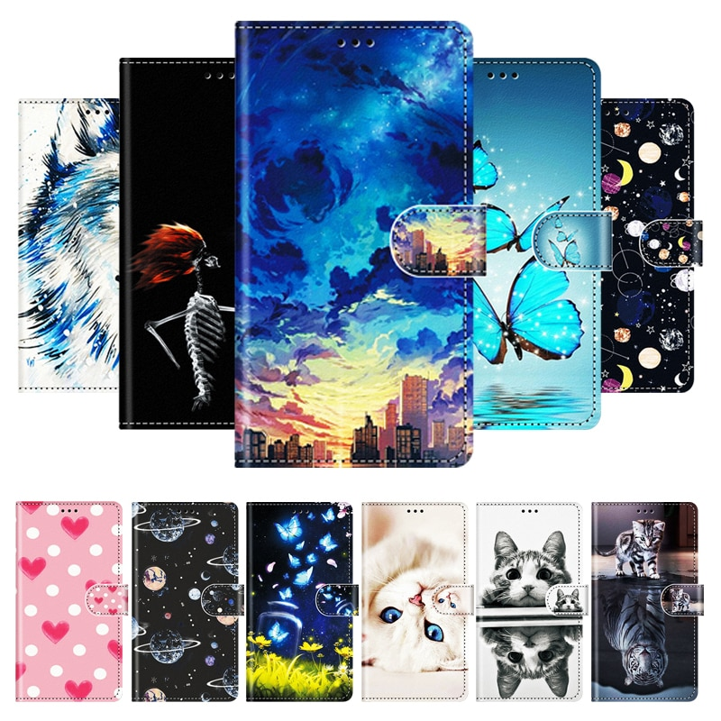 Luxury Leather Case For Huawei P Smart Plus 2019 Cover Protect Flip Phone Case For Huawei P Smart 2019 2020 Plus 2018 Bumper