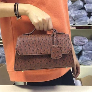Hot Sale New Arrival Fashion Ostrich Handbag 2020 Cross Body Shoulder Bag Designer Women Bags