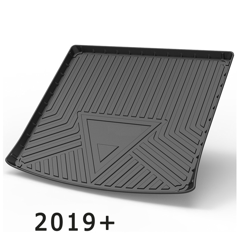 For Volkswagen Touareg 7P 2010-2021 Auto Car Cargo Liner All-Weather Non-slip Trunk Mats Boot Tray Carpet Interior Accessories enlarge