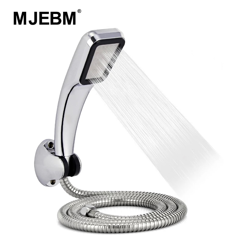aliexpress.com - 300-hole high-pressure ABS shower kit with retainer and water-saving shower with bracket and hose shower kit