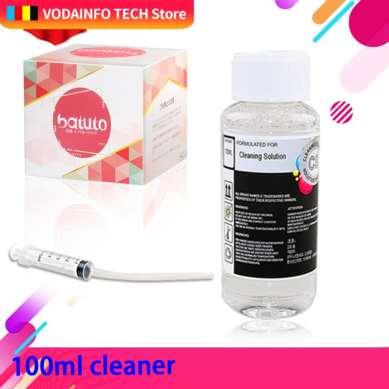 AliExpress - QSYRAINBOW Print Head cleaner cleaning solution cleaning liquid fluid for HP EPSON CANON BROTHER Inkjet Printer Cartridge