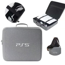 Travel Storage Handbag For PS5 Console Protective Luxury Bag Adjustable Handle Bag For Playstation 5