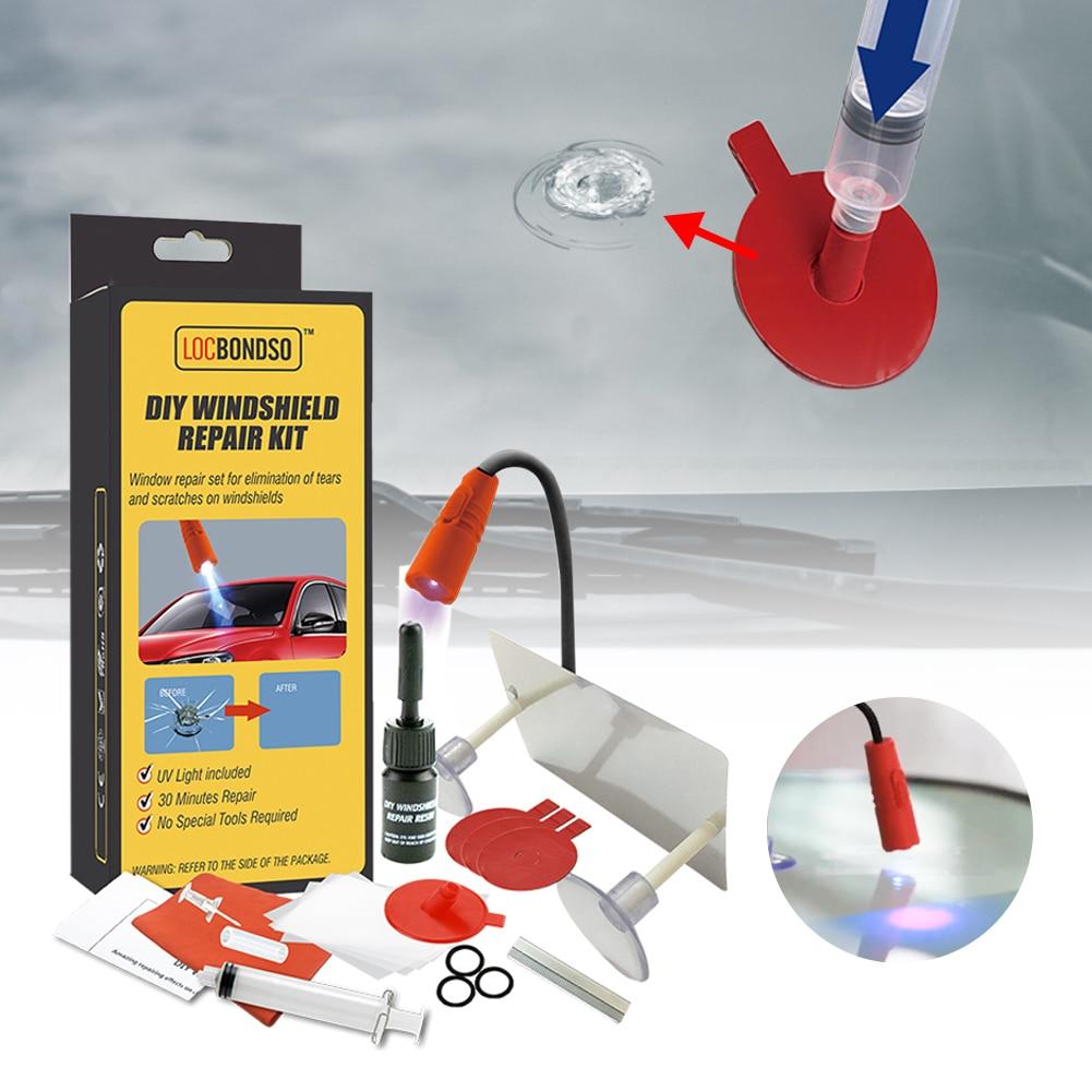 Автомобильные аксессуары, профессиональный набор для ремонта лобового стекла автомобиля «сделай сам», инструмент для ремонта автомобильн...