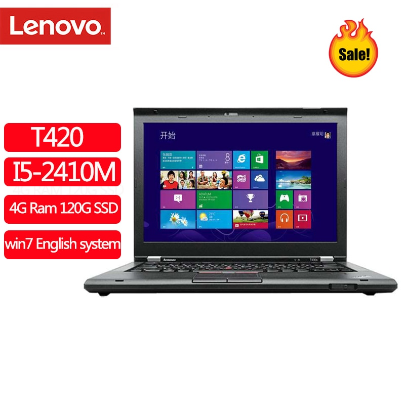 Review Used Laptop Lenovo ThinkPad T420 Notebook Computers 8GB Ram Laptop 1280×800 14 Inches Win10 English System Diagnosis Pc Tablet