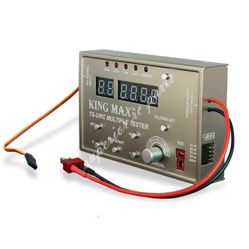 KINGMAX TS-2 RC Multiple Servo Tester High Aaccuracy Testing