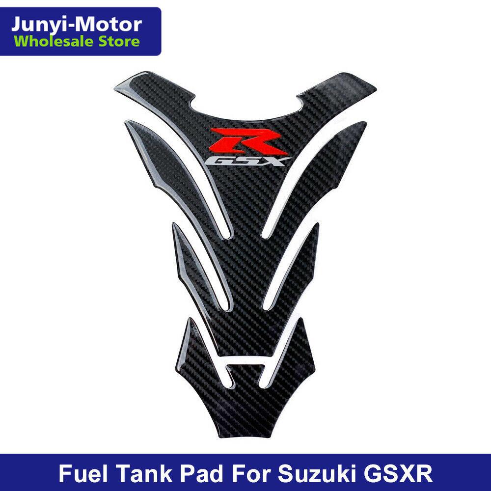 3d motocicleta olhar de carbono almofada do tanque combustível óleo gás protetor adesivo decalque para suzuki GSX-R gsxr 750 600 1000 para hayabusa gsxr1300