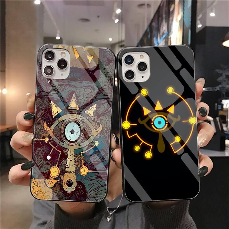 Высококачественный чехол для телефона Legend Of Zelda с закаленным стеклом для iPhone 11 Pro XR XS MAX 8X7 6S 6 Plus SE 2020