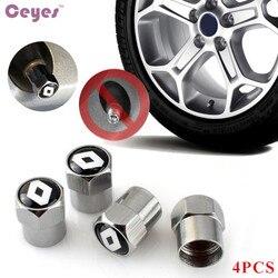 Ceyes крышка клапана для автомобильных шин чехол для Renault Laguna 2 Captur Fluence Megane 2 Megane 3 Scenic 2 Clio Logan Capture автомобильный Стайлинг 4 шт.